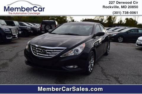 2011 Hyundai Sonata for sale at MemberCar in Rockville MD
