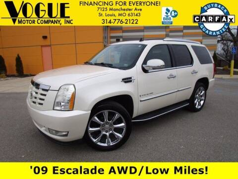 2009 Cadillac Escalade for sale at Vogue Motor Company Inc in Saint Louis MO