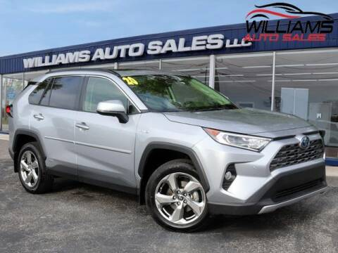 2020 Toyota RAV4 Hybrid for sale at Williams Auto Sales, LLC in Cookeville TN