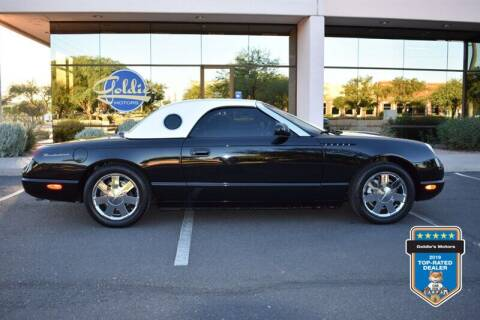 2002 Ford Thunderbird for sale at GOLDIES MOTORS in Phoenix AZ