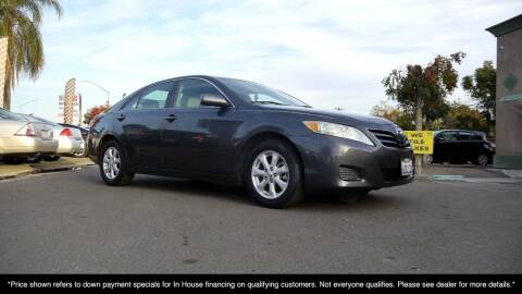 2011 Toyota Camry for sale at Westland Auto Sales in Fresno CA