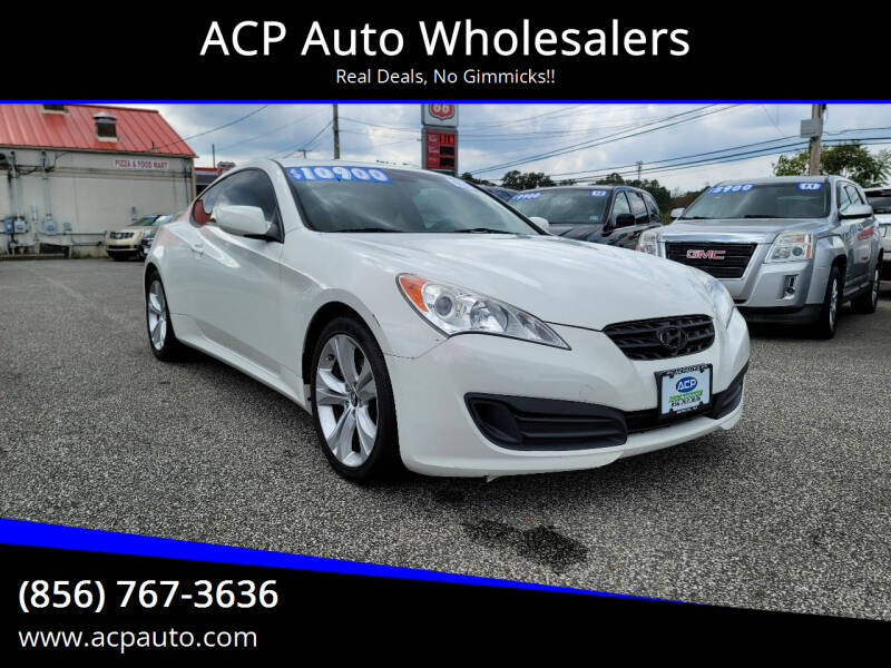 2011 Hyundai Genesis Coupe for sale at ACP Auto Wholesalers in Berlin NJ