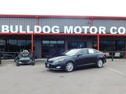 2015 Kia Optima for sale at Bulldog Motor Company in Borger TX