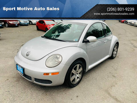 2006 Volkswagen New Beetle for sale at Sport Motive Auto Sales in Seattle WA