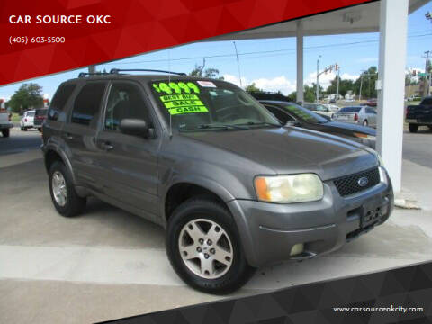 2003 Ford Escape for sale at CAR SOURCE OKC - CAR ONE in Oklahoma City OK