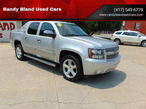 2013 Chevrolet Avalanche for sale at Randy Bland Used Cars in Nevada MO