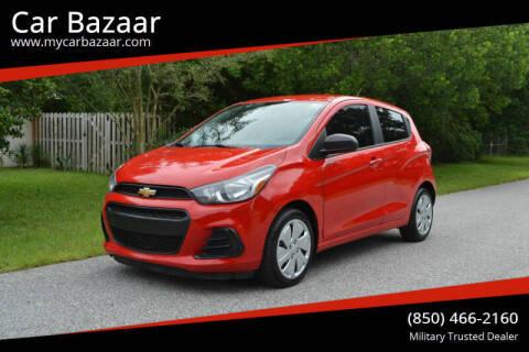 2017 Chevrolet Spark for sale at Car Bazaar in Pensacola FL
