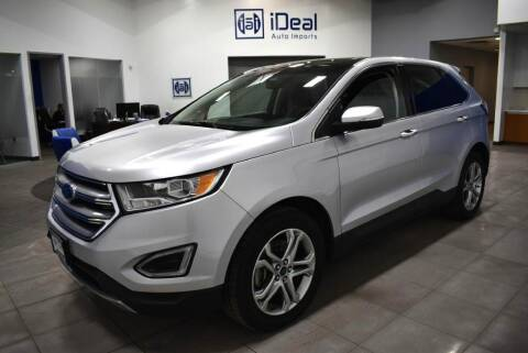 2017 Ford Edge for sale at iDeal Auto Imports in Eden Prairie MN
