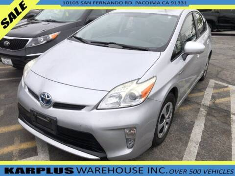 2014 Toyota Prius for sale at Karplus Warehouse in Pacoima CA