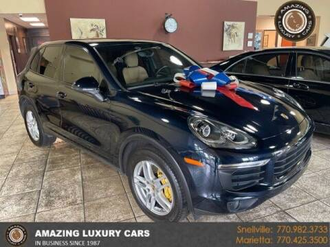 2016 Porsche Cayenne for sale at Amazing Luxury Cars in Snellville GA