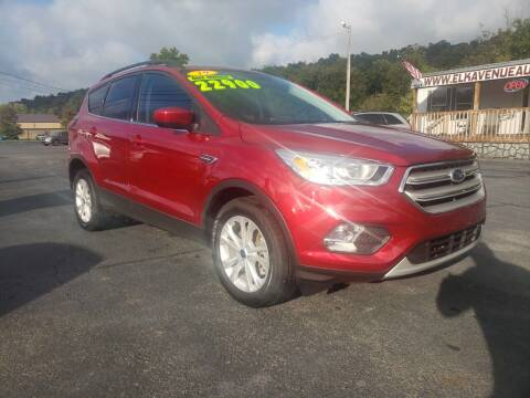 2019 Ford Escape for sale at Elk Avenue Auto Brokers in Elizabethton TN
