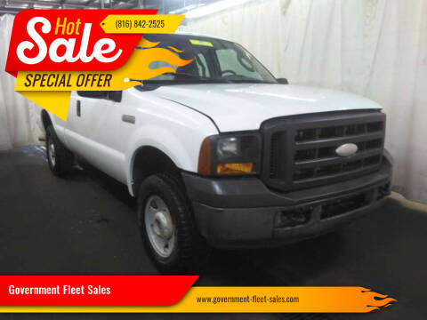 2005 Ford F-250 Super Duty for sale at Government Fleet Sales in Kansas City MO