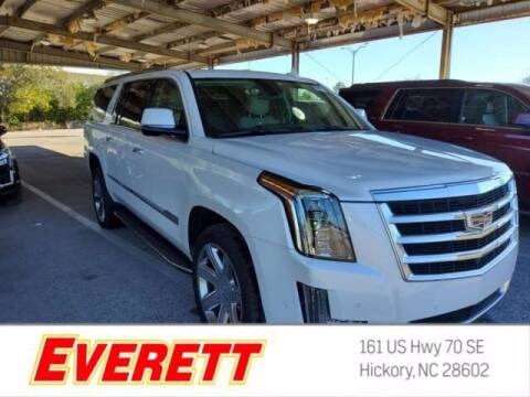 2020 Cadillac Escalade ESV for sale at Everett Chevrolet Buick GMC in Hickory NC