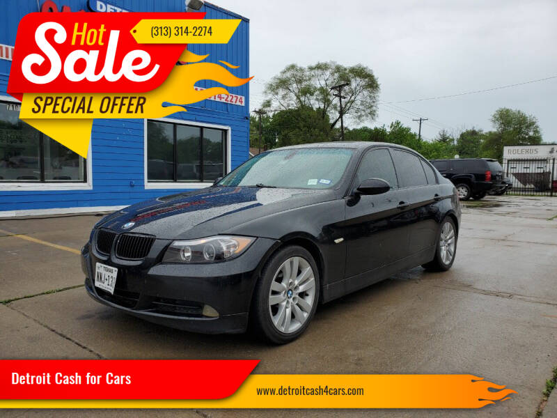2006 BMW 3 Series for sale at Detroit Cash for Cars in Warren MI