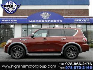 2017 Nissan Armada for sale at Highline Group Motorsports in Lowell MA