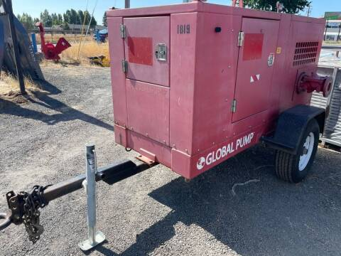 2018 Global Towable water pump for sale at DirtWorx Equipment - Used Equipment in Woodland WA