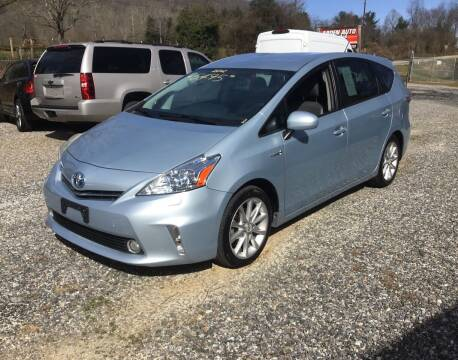2012 Toyota Prius v for sale at Arden Auto Outlet in Arden NC