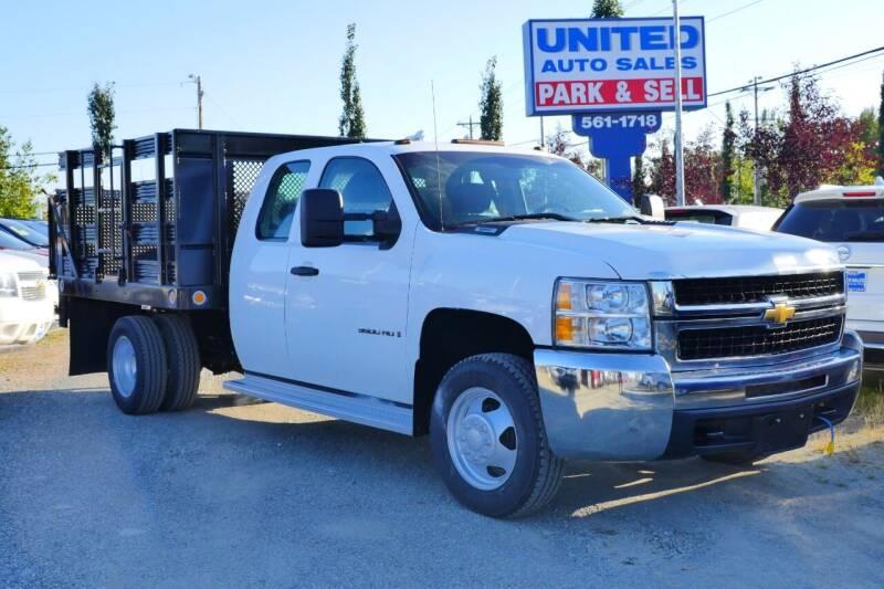 2009 Chevrolet Silverado 3500HD CC for sale at United Auto Sales in Anchorage AK