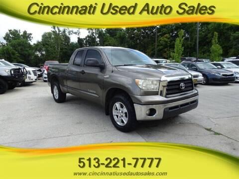 2008 Toyota Tundra for sale at Cincinnati Used Auto Sales in Cincinnati OH