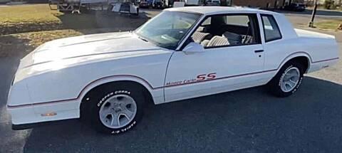 1986 Chevrolet Monte Carlo for sale at Muscle Car Jr. in Alpharetta GA