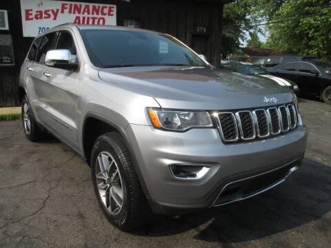 2020 Jeep Grand Cherokee for sale at EZ Finance Auto in Calumet City IL