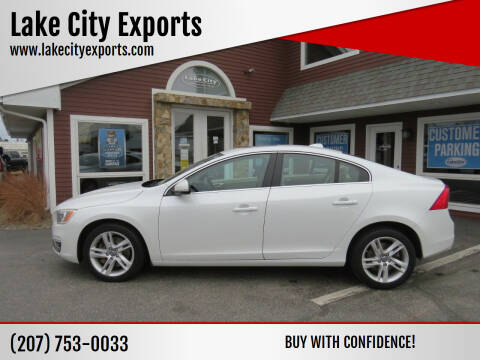 2015 Volvo S60 for sale at Lake City Exports in Auburn ME