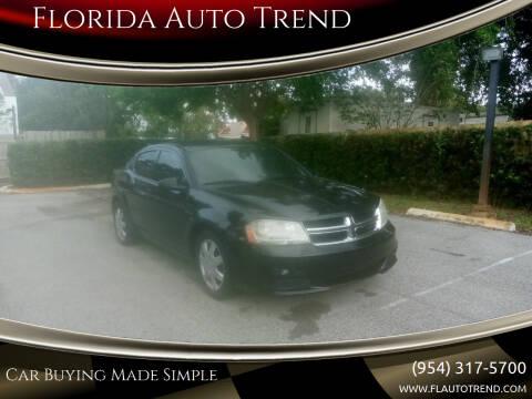 2011 Dodge Avenger for sale at Florida Auto Trend in Plantation FL