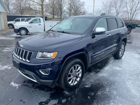 2015 Jeep Grand Cherokee for sale at CarSmart Auto Group in Orleans IN