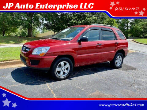 2009 Kia Sportage for sale at JP Auto Enterprise LLC in Duluth GA