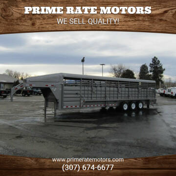 2021 GR 32' GN Stock Trailer for sale at PRIME RATE MOTORS in Sheridan WY