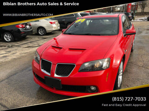 2009 Pontiac G8 for sale at Bibian Brothers Auto Sales & Service in Joliet IL