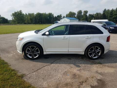 2013 Ford Edge for sale at Steve Winnie Auto Sales in Edmore MI