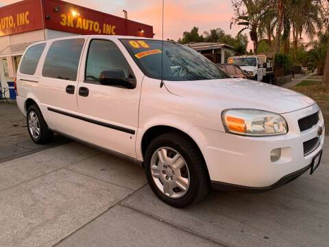 2008 Chevrolet Uplander for sale at 3K Auto in Escondido CA