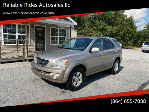 2006 Kia Sorento for sale at Reliable Rides Autosales llc in Greer SC