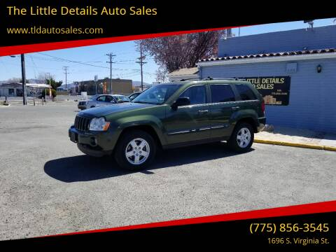 2007 Jeep Grand Cherokee for sale at The Little Details Auto Sales in Reno NV