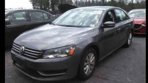 2013 Volkswagen Passat for sale at Nano's Autos in Concord MA