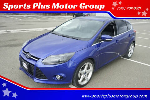 2013 Ford Focus for sale at Sports Plus Motor Group LLC in Sunnyvale CA