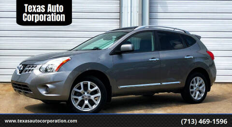 2012 Nissan Rogue for sale at Texas Auto Corporation in Houston TX