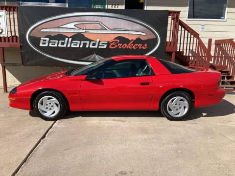 1993 Chevrolet Camaro for sale at Badlands Brokers in Rapid City SD