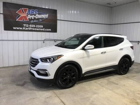 2018 Hyundai Santa Fe Sport for sale at Karl Pre-Owned in Glidden IA