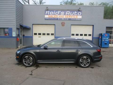 2018 Audi A4 allroad for sale at Reid's Auto Sales & Service in Emporium PA