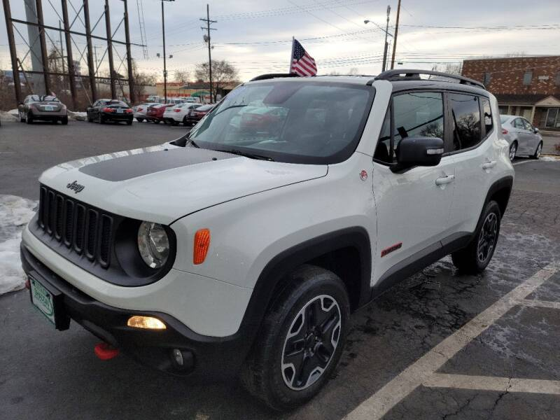 2016 Jeep Renegade for sale at Shaddai Auto Sales in Whitehall OH
