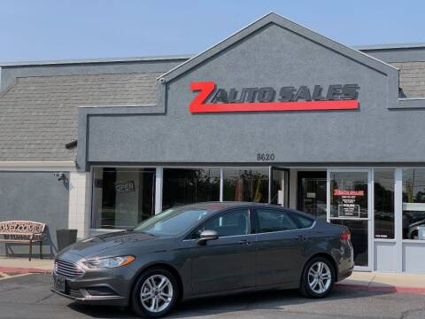 2018 Ford Fusion for sale at Z Auto Sales in Boise ID