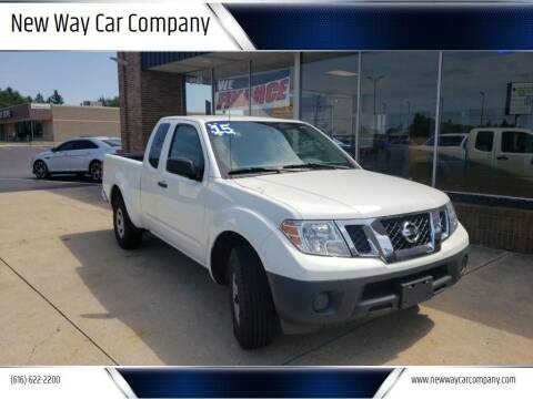 2015 Nissan Frontier for sale at New Way Car Company in Grand Rapids MI