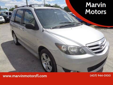 2004 Mazda MPV for sale at Marvin Motors in Kissimmee FL