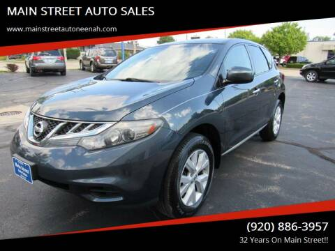 2011 Nissan Murano for sale at MAIN STREET AUTO SALES in Neenah WI