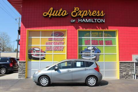 2007 Honda Fit for sale at AUTO EXPRESS OF HAMILTON LLC in Hamilton OH
