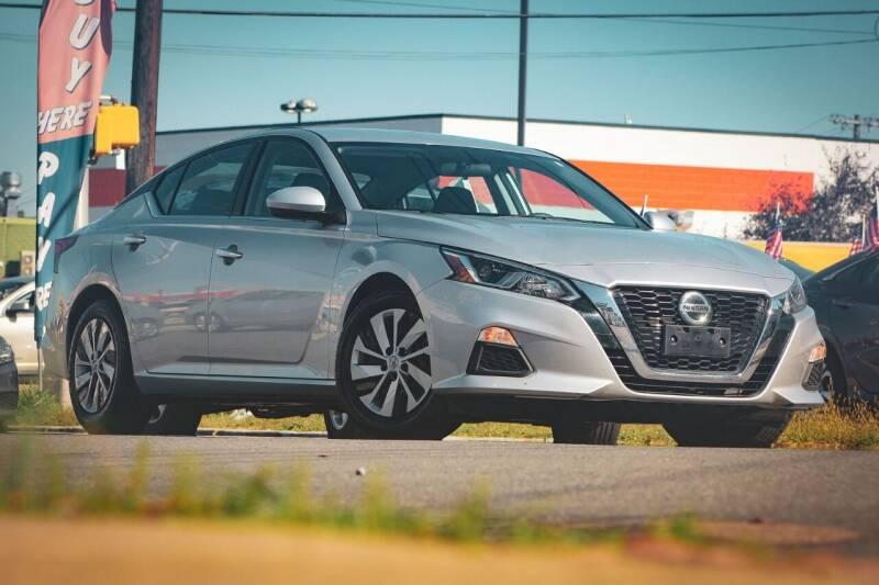 2019 Nissan Altima for sale at Dina Auto Sales in Paterson NJ