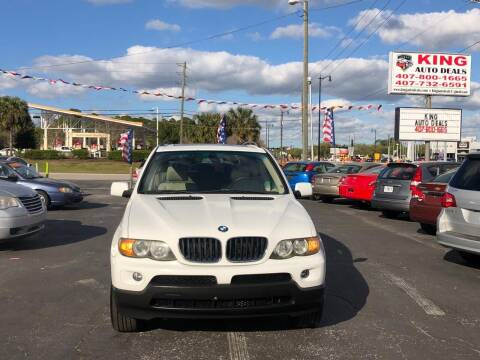 2006 BMW X5 for sale at King Auto Deals in Longwood FL