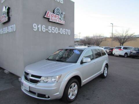 2010 Dodge Journey for sale at LIONS AUTO SALES in Sacramento CA